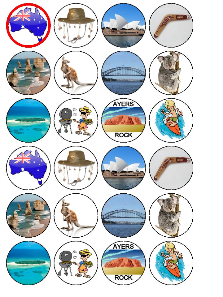 Icing Cake Toppers Australia
