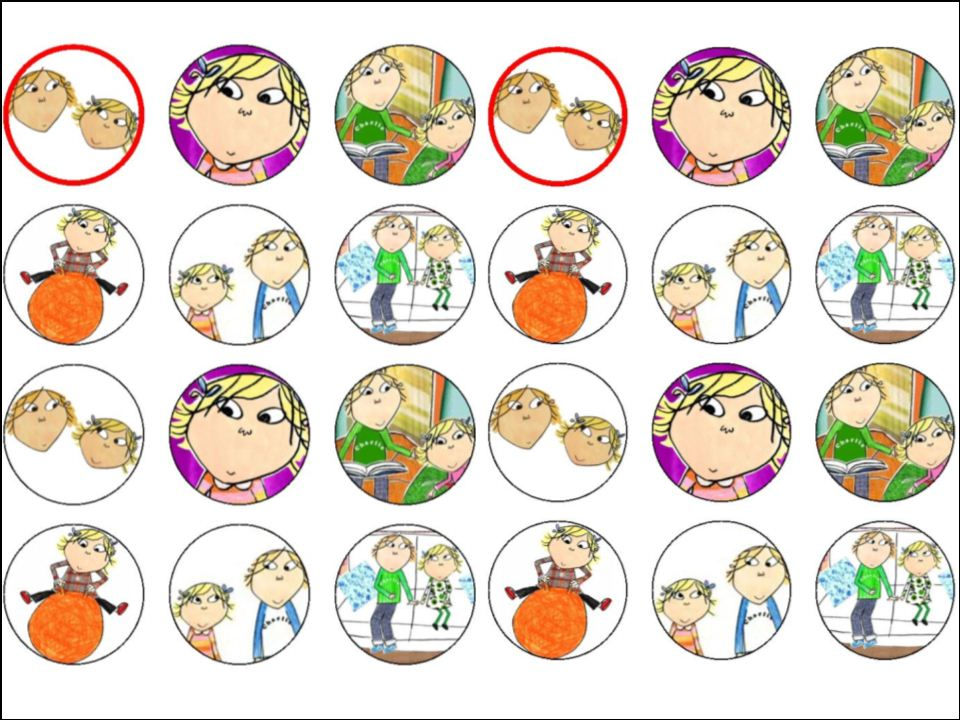 Charlie And Lola Cake Topper