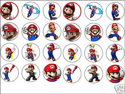 Mario Cake Toppers Uk