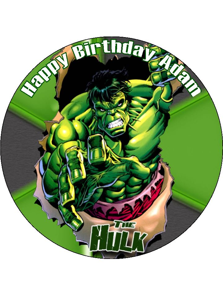Hulk Cake Decorations Uk Perfectend for