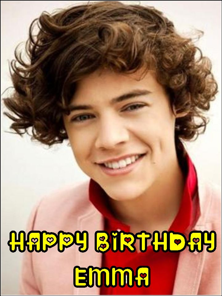 A4 Harry Styles One Direction Edible Icing or Wafer Paper Birthday