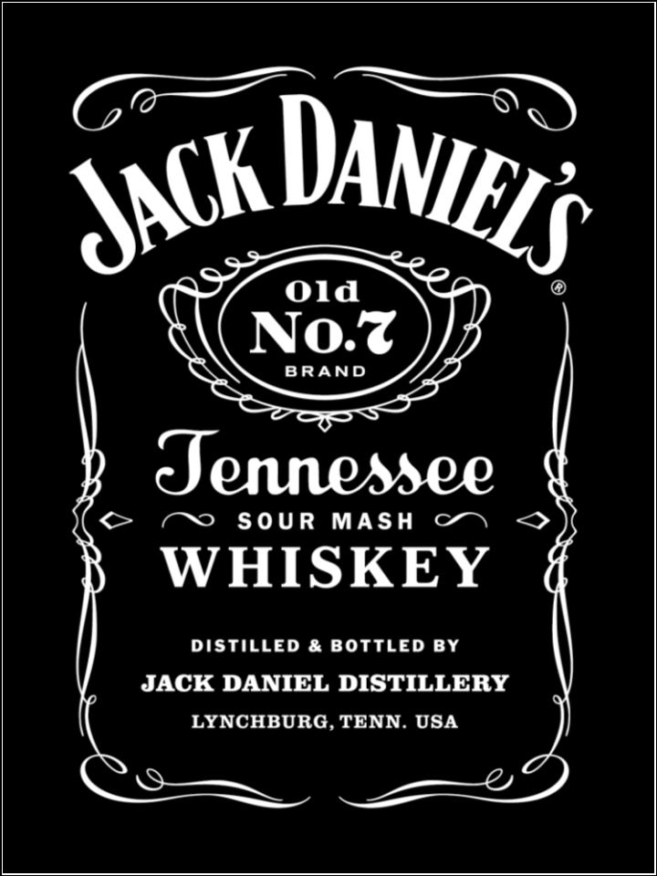 a4 personalised jack daniels jd edible icing or wafer cake