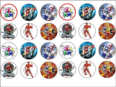 Cake Toppers Power Rangers