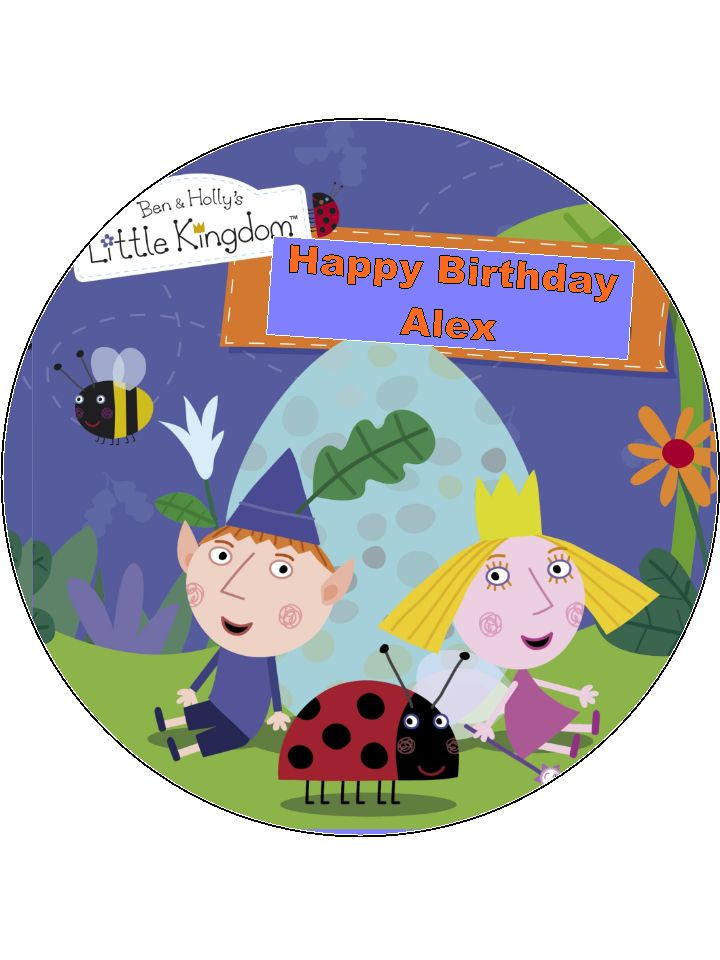 Ben And Holly S Little Kingdom Cake