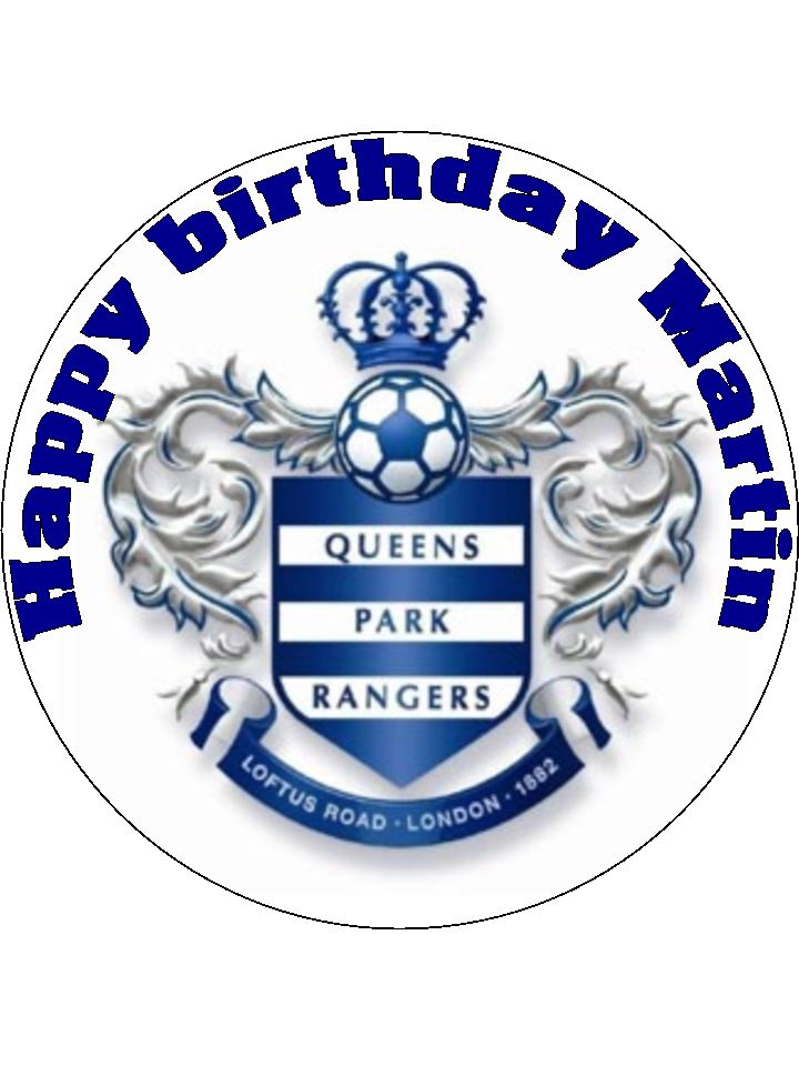 7 5 Personalised Qpr Queens Park Rangers Fc Football Club