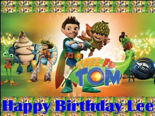 """Tree Fu Tom Personalised Cake Topper Edible Wafer Paper 7.5/"""""""
